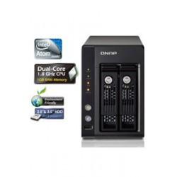 QNAP TS-259 PRO+ Turbo NAS Intel Atom 1.8 GHz Dual-Core 1Gb RAM
