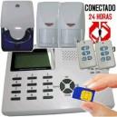 Kit Alarma con GSM integrado via radio - Sin cuotas -