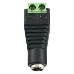 CONECTOR DC  ALIMENTACION CCTV MACHO